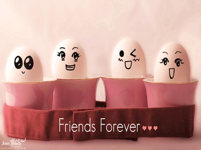 Funny Friends Forever Wishes Image