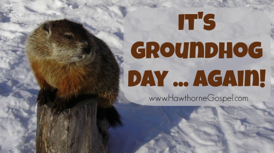 Funny Happy Groundhog Day Wishes Image