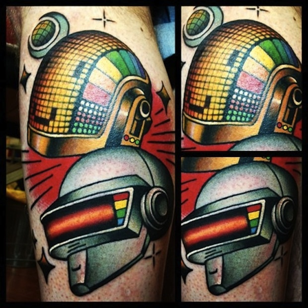 Great Helmet Tattoos For Boys