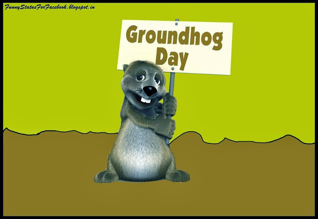 Groundhog Day Wishes Image