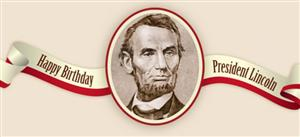 Happy Birthday President Lincoln Wishes Image