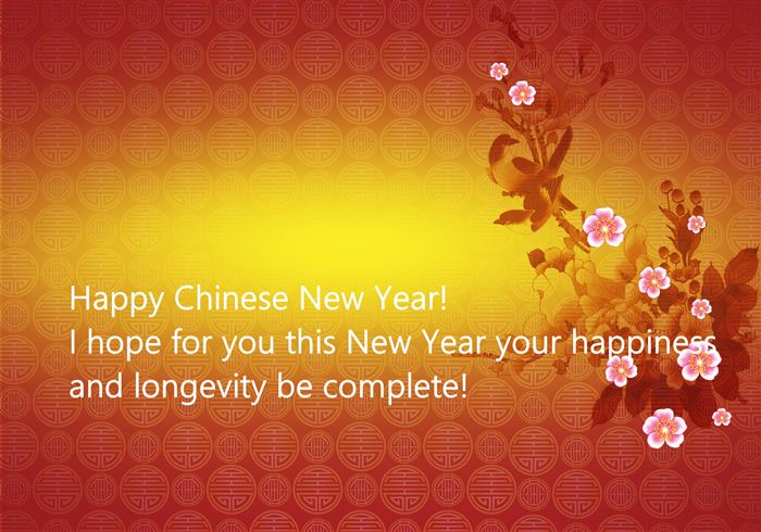 Happy Chinese New Year Wishes Message Image
