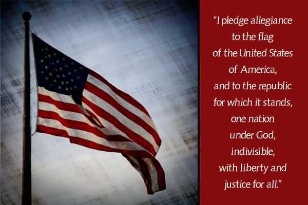Happy Flag Day Pledge Wishes Image