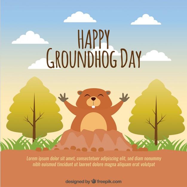 Happy Groundhog Day Best Wishes