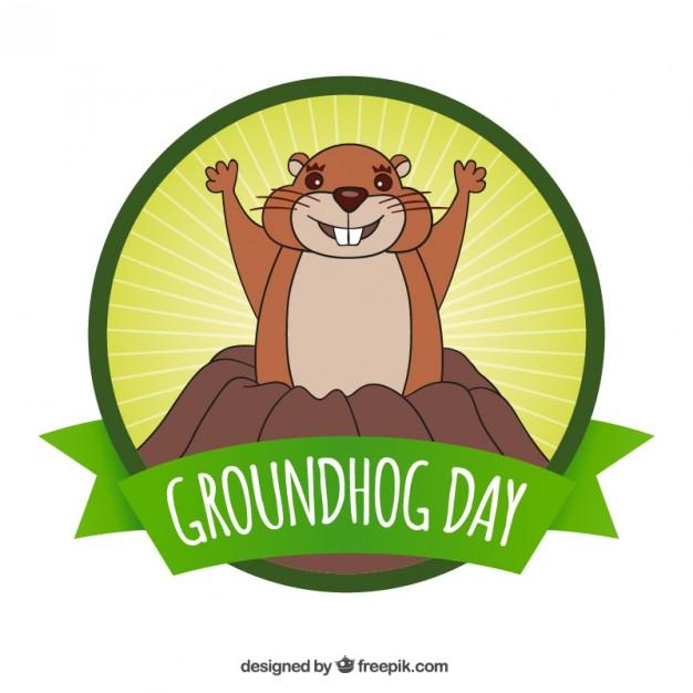 Happy Groundhog Day Greetings Image