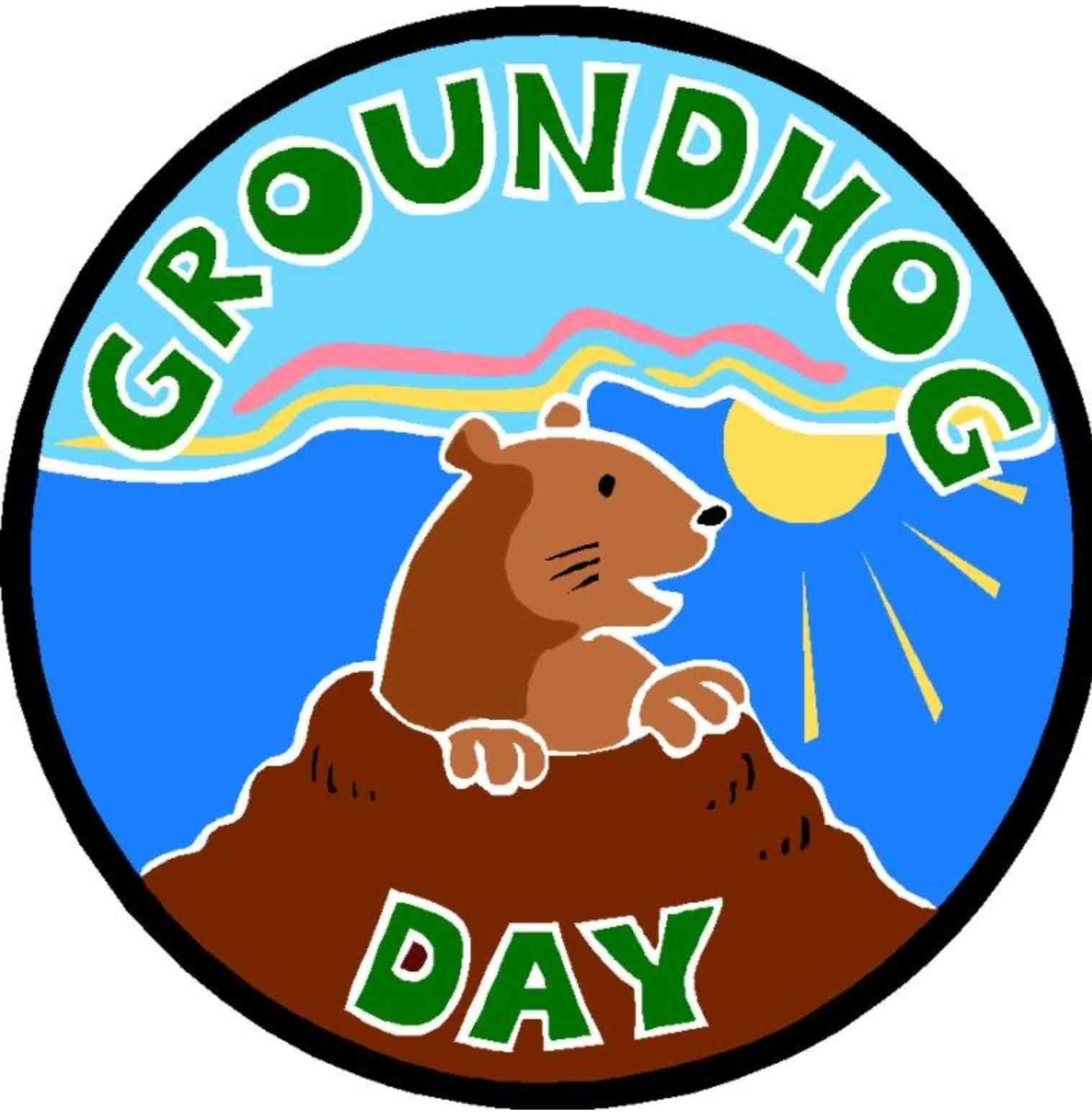 Happy Groundhog Day Wishes To Everyone Image
