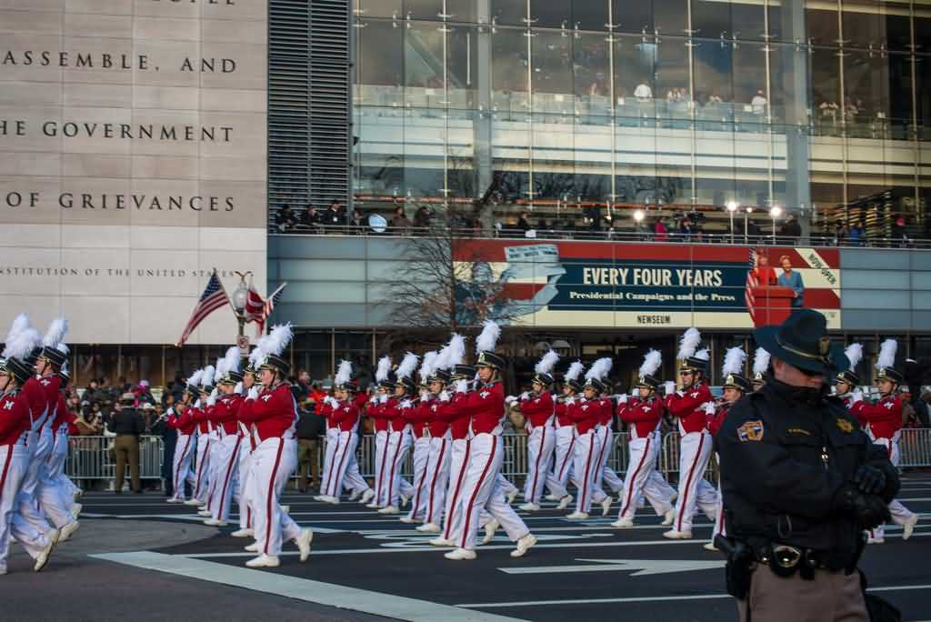 Happy Inauguration Day Parade Picture