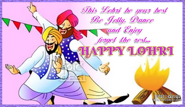 Happy Lohri To You Wishes Image