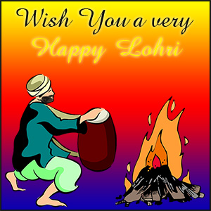 Happy Lohri Wishes And Greetings Image