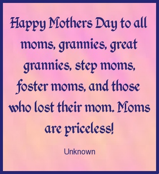 Happy Mother's Day Mom Quotes Image