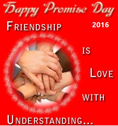 Happy Promise Day Wishes I Love You Image