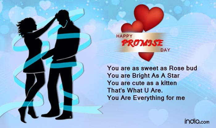 Happy Promise Day Pictures You Are As Sweet As Rose Bud
