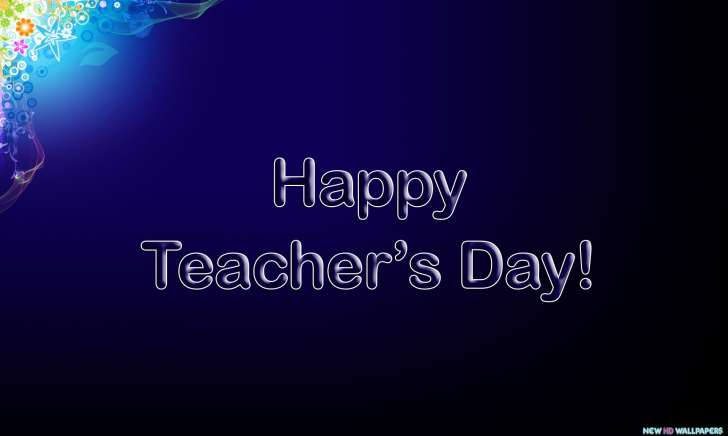 Happy Teacher's Day Greetings Wallpaper