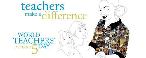 Happy World Teacher's Day October 5 Wishes Image
