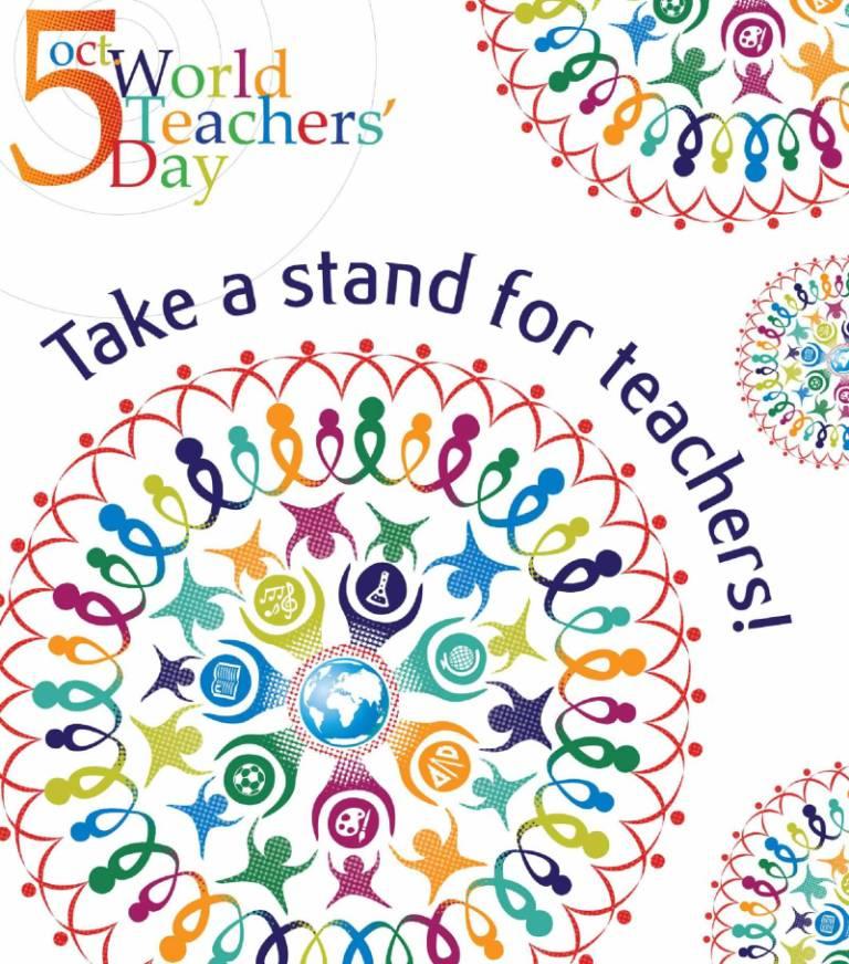 Happy World Teacher's Day Sir Wishes Image