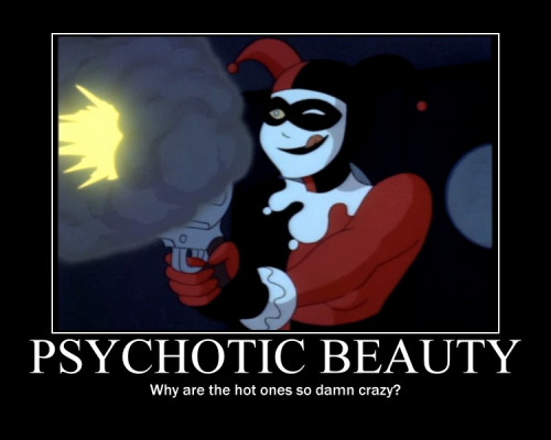 Harley Quinn Memes Psychotic Beauty Why Are The Hot Ones So Damn Crazy