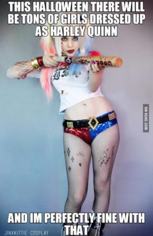 Harley Quinn Memes This Halloween There Will Be Tons Of Girls Dresed Up As Harley Quinn
