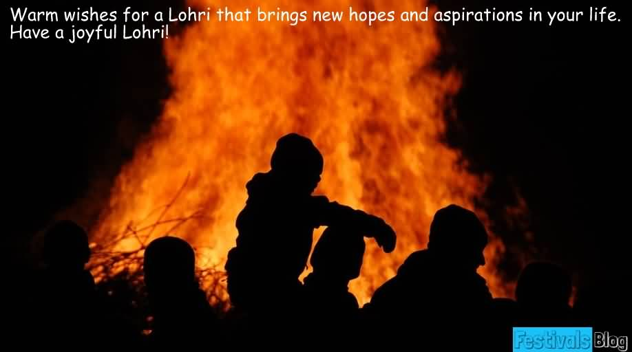 Have A Joyful Happy Lohri Wishes Picture