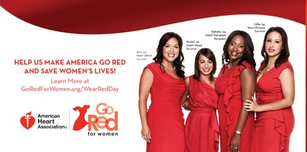Help Us Make America Go Red National Wear Red Day Images