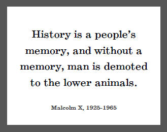 History Quotes History Is A People's Memory And Without A Memory Man Is Demoted To The Lower Animals
