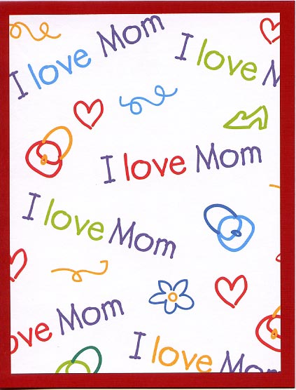 Homemade Happy Mother's Day Wishes Image