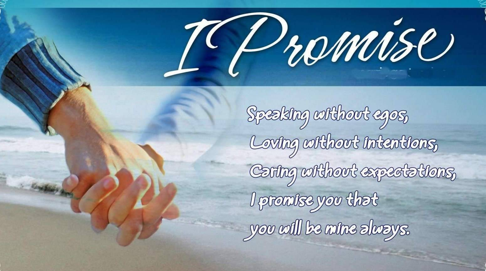 I Promise Happy Promise Day To You