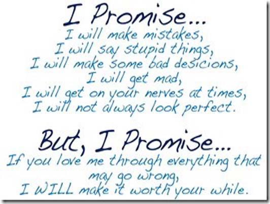 I Promise I Will Make Mistake Happy Promise Day Image