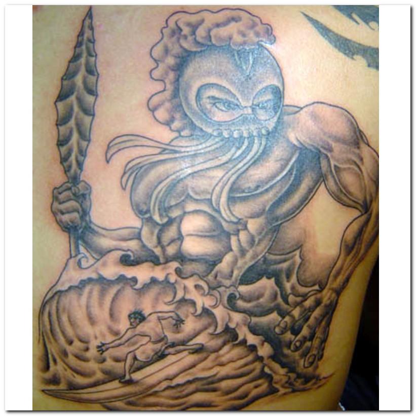 Inspirational Hawaiian Tattoo Design Picture For Boys