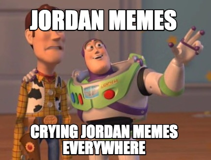 Jordan Crying Jordan Meme Everywhere Meme Picture