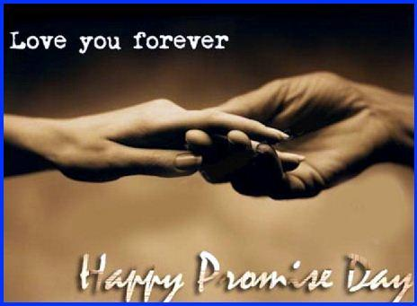 Love You Forever Happy Promise Day Image
