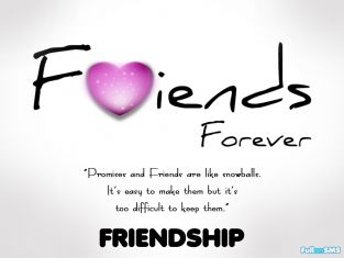Lovely Friends Forever Wishes Message