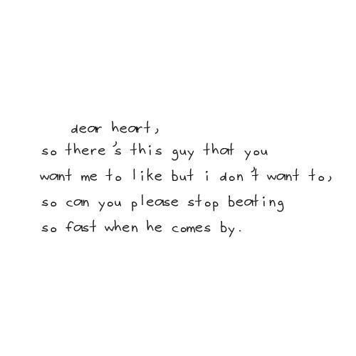 MCM Sayings Dear heart so there's this guy that you want me to like but i don't want to