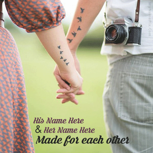 Made For Each Other Happy Promise Day Wishes Image