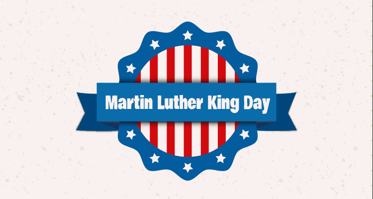 Martin Luther King Day Greetings Message Image