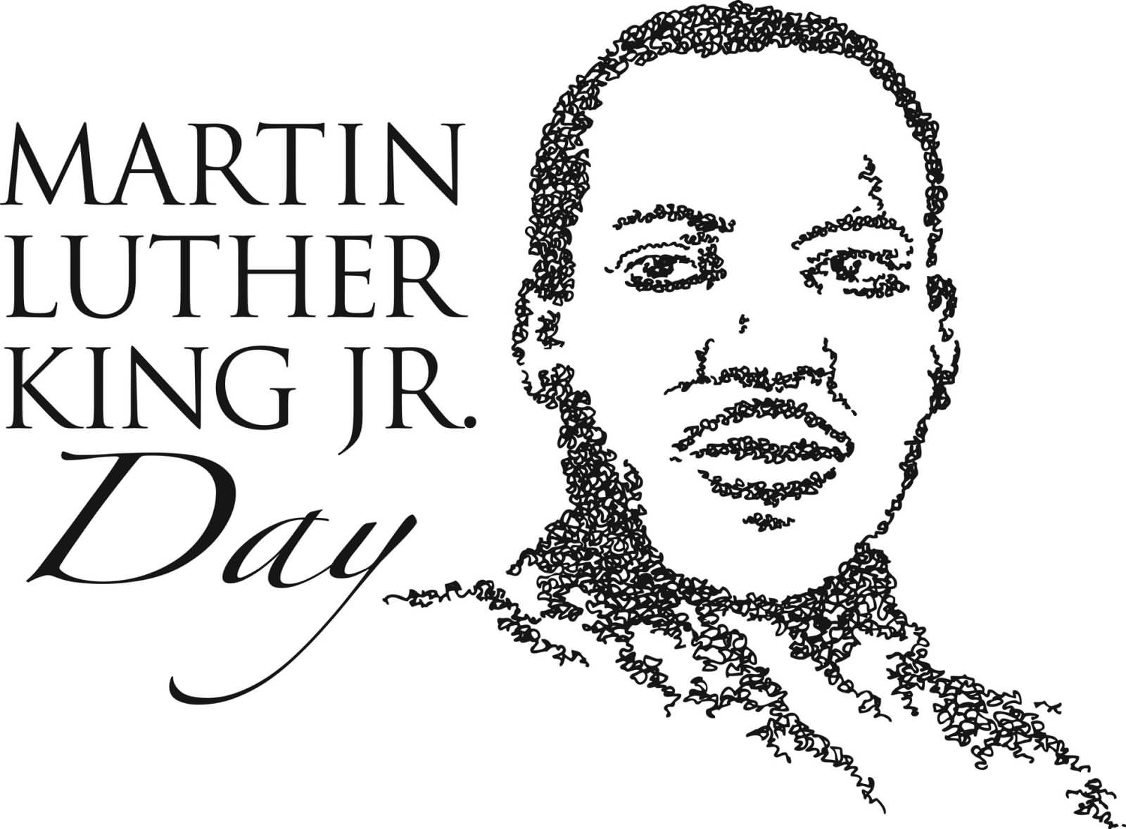 Martin Luther King Jr Day Art Picture