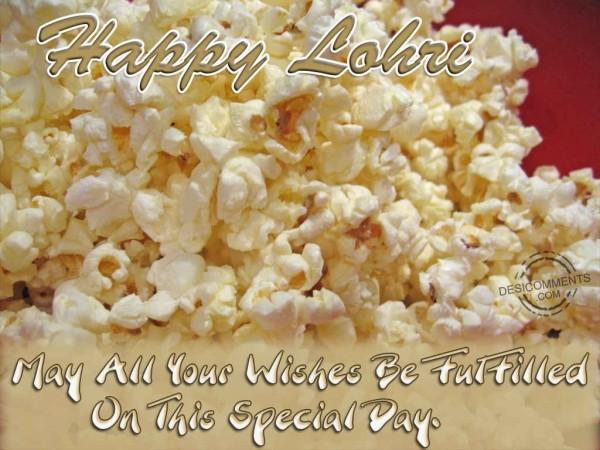 May All Your Wishes & Dreams Come True Happy Lohri