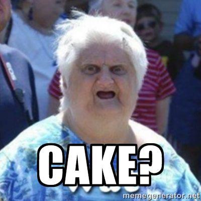 Meme Cake Graphic
