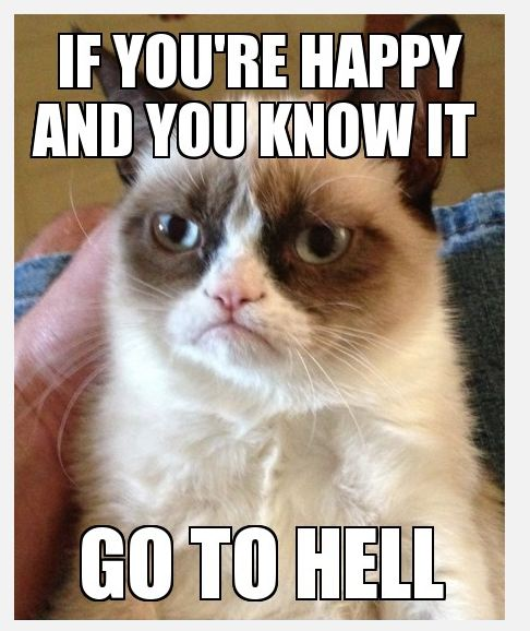 Meme If You Are Happy And You Know It Go To Hell (3) Picture