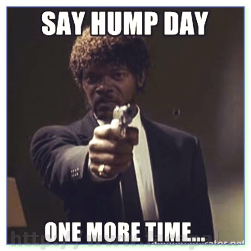 Meme Say Hump Day One More time Image