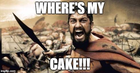 Meme Where My Cake Image