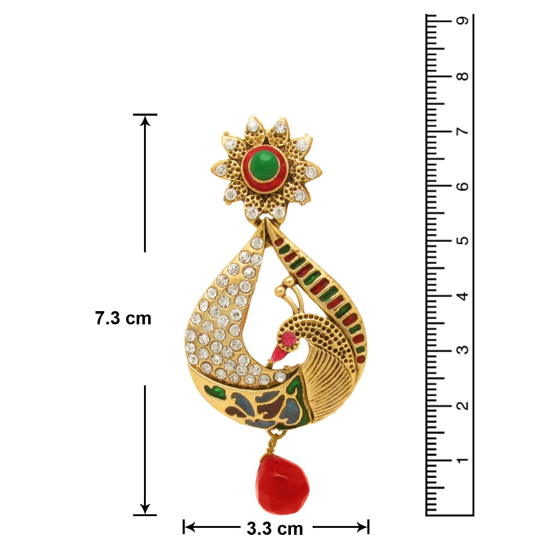 Metal Gold color Dangle & Drop Earrings For Women 03