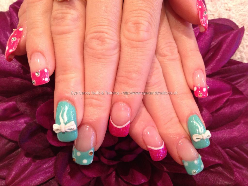Most Amazing Bow 3D Acrylic Nail Art