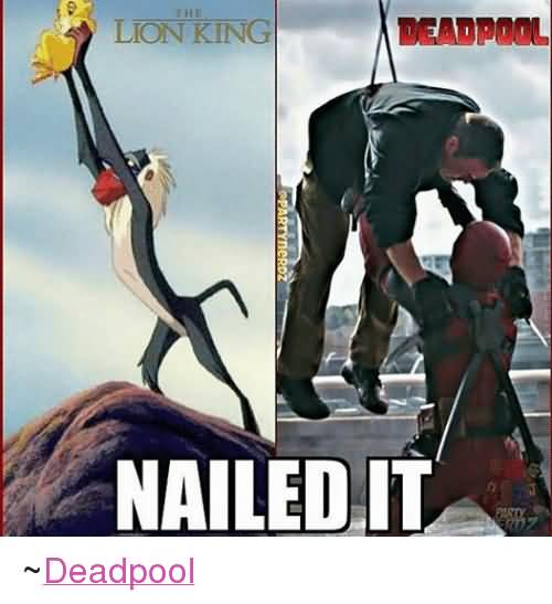 Nailed It Deadpool Deadpool Meme