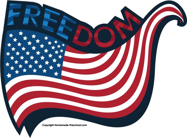 National Freedom Day USA Flag Wallpaper