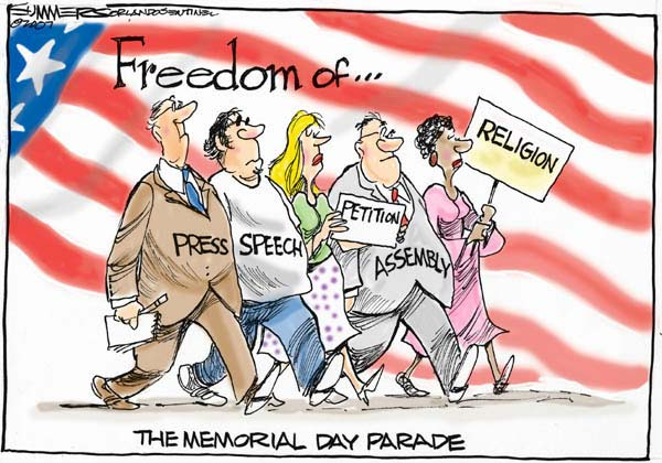 National Freedom The Memorial Day Parade Day