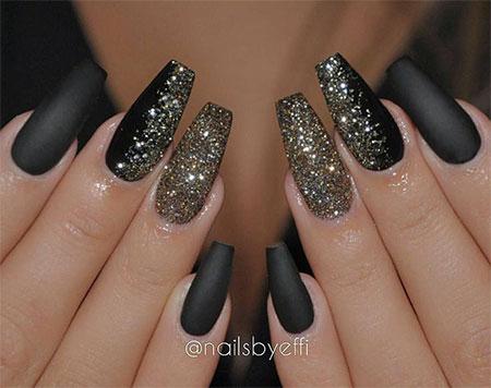 Nail art design black choice image nail art and nail design ideas phenomenal black nail art design with silver sparkling picsmine phenomenal black nail art design with silver prinsesfo Images