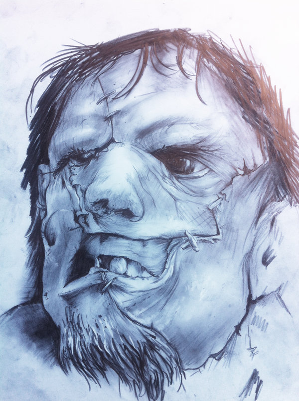 Realistic Letherface Horror Tattoo For Girls And Boys