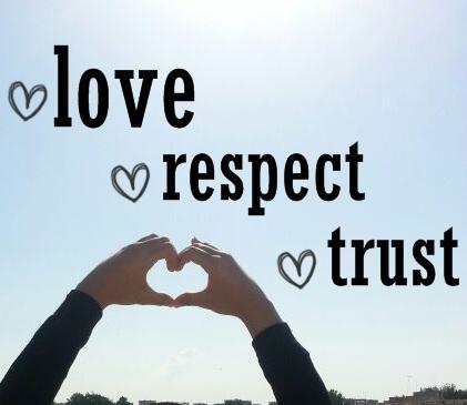 Respect Quotes love respect trust