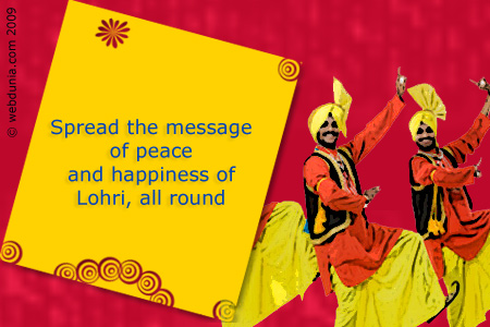 Sending Warm Wishes You A Very Happy Lohri Greetings Image