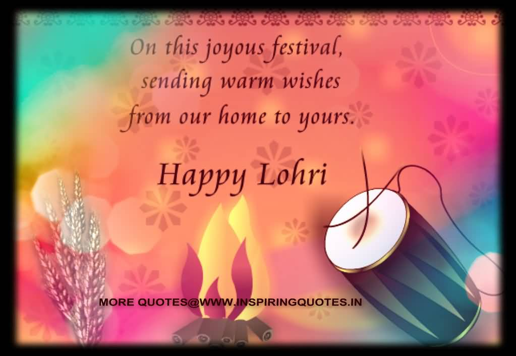 Sending You Warm Wishes For Festival Happy Lohri Wishes